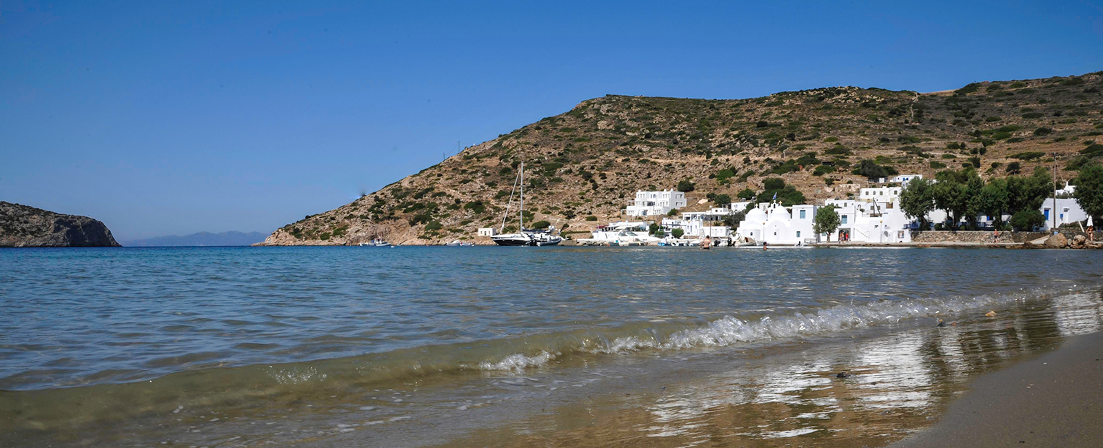 The village of Vathi in Sifnos